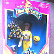 Gisha Mighty Morphin POWER RANGER Doll Action Figure NRFB