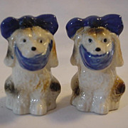 Muggsy Dog Salt Pepper Shakers Made in Japan
