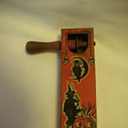 Halloween noise maker Vintage by Kirchhof