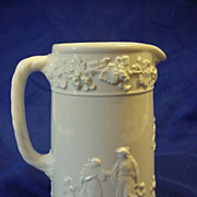 Wedgwood Queen's Ware White 5 3/4 &quot; Pitcher