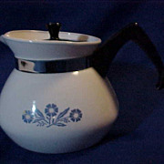 Corning Ware Cornflower 3 Cup Tea Pot