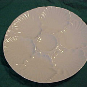 Bareuther Waldsassen Germany Porcelain Oyster Plate