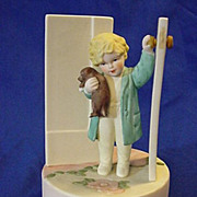 Music Box Heirloom Bessie Pease Gutmann Good Morning