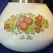 Corning Ware Spice of Life 6 Cup Tea Pot Range Top