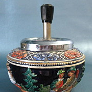 SOLD Relief Pottery Crock Ashtray Stein Style Western Germany