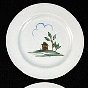 Arabia Finland Plates Rabbit & House Suomi