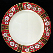 Charlton Hall Holiday China Chop Plate