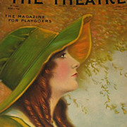 1915 The Theatre Magazine with Gorgeous Cover & Omar Turkish Cigarettes & The White Motor Car