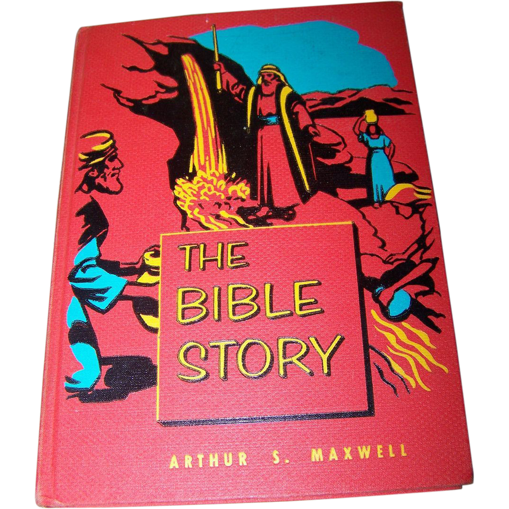 The Bible Story--Arthur Maxwell--Volumes 1-10 (Complete Set, Hardcover, '53-'57)
