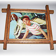 Tramp Art Vintage Frame Print That Empty Feeling Bryers