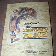 Lewis Carroll's the nursery 'Alice' C. 1985 Omega Books LTD