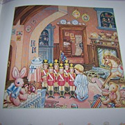 Lynn Hollyn's Christmas Toyland C. 1985 Paintings by Lori Anzalone