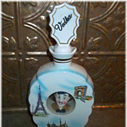 Vintage Novelty Ceramic Liquor Decanter  Bottle VODKA