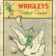 Vintage Advertising Premium Booklet Wrigley's Mother Goose