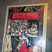 H.C. Vintage Book Old King Cole's Book of Nursery Rhymes