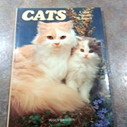 Charming Vintage Book Titled CATS Color Nature Library
