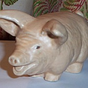 Price Bros. England Pottery Pig Figurine