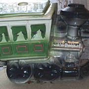 HUGE Maurice Ceramic of California Locomotive Train Cookie Jar