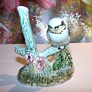 Weetman Giftware England Porcelain Bird on Branch Figurine