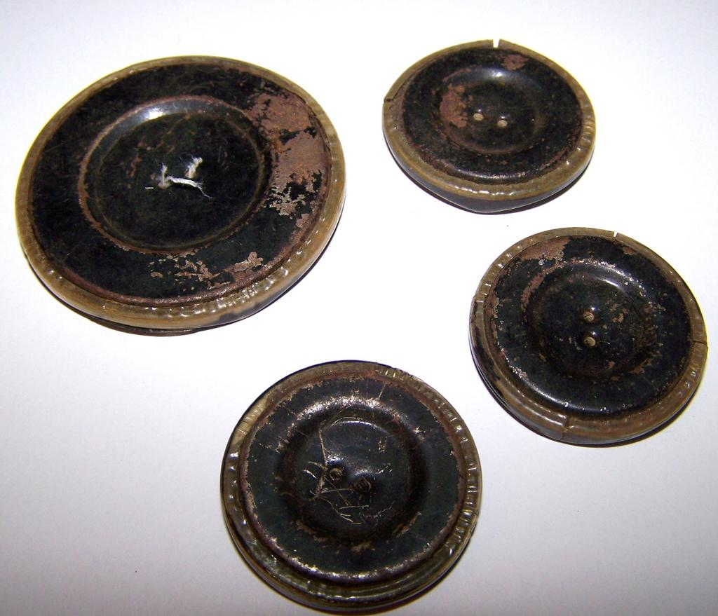 4 vintage celluloid buttons tested positive from for L furniture warehouse victoria bc