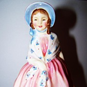 "Pink ""  Lily "" Royal Doulton  Bone China Figurine HN 1798"