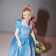 Blue  Wendy Royal Doulton Bone China Figurine