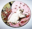 ~^..^~ 3 KITTY CAT Little Rascal Kitten Classics Collector  Cat Plate Royal Worcester Bone China