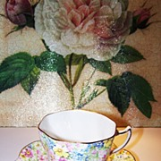 Rosina Chintz Tea Cup & Saucer Bone China