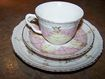 Unique Vintage Tea Cup & Saucer Cherubs Putti Angel Motif