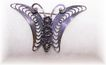 Art Nouveau Style Butterfly Pin Beau Sterling