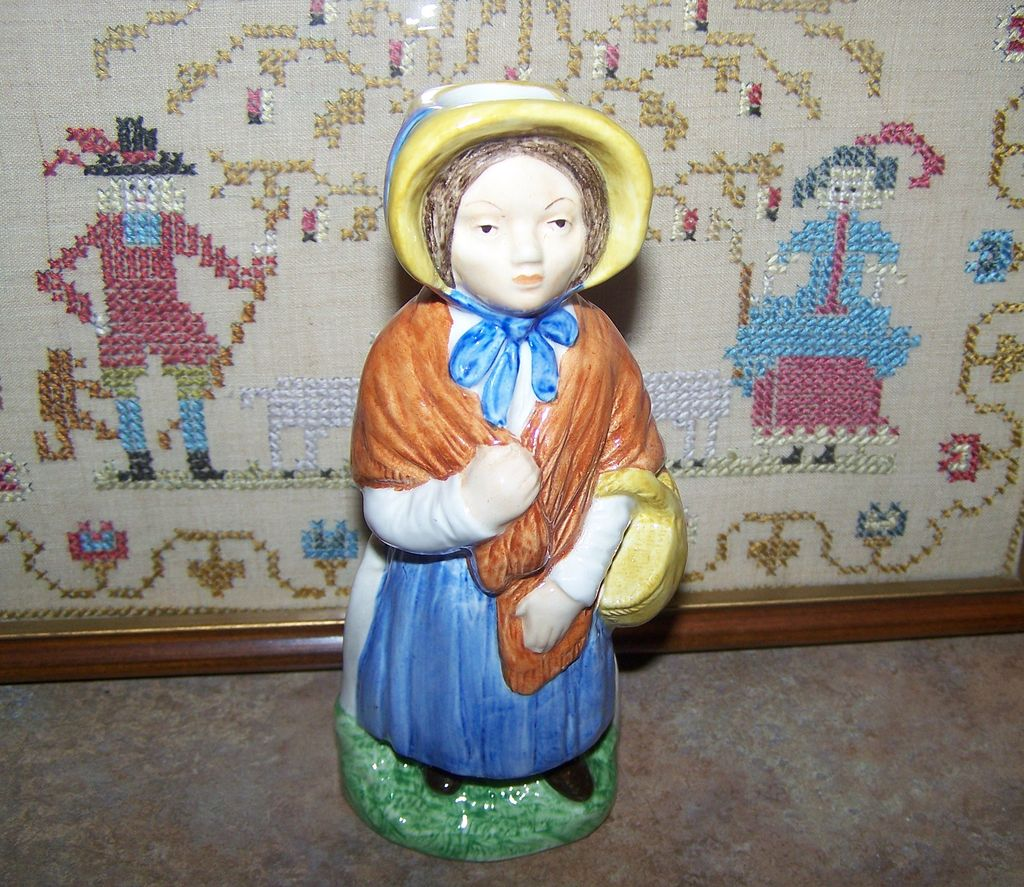 Wood & Sons England Toby Jug Little Nell Franklin Porcelain 79