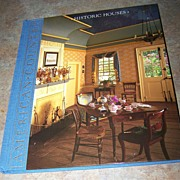 Hard Cover Book Titled American Country Historic Houses