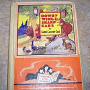 Downy Wings & Sharp Ears By Carol Cassidy Cole Book H.C.