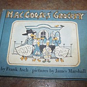 Mac Gooses' Grocery C. 1978 H.C. Book Charming !!!