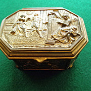 Adorable Casket/Dresser Box Circa 1915