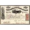 1865 Roberts Petroleum Torpedo Co Stock