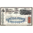 1870 United Petroleum Farms Association Stock