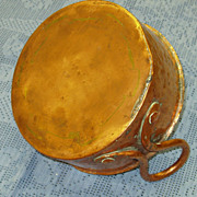 REDUCED Antique Copper Kettle