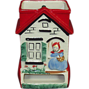 Little Red Riding Hood Hull Match Holder
