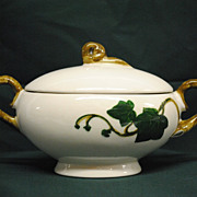 Metlox-Poppytrail Ivy Sugar Bowl with Lid