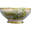 Antique Limoges Hand Painted Tressemann & Vogt Porcelain Fruit Bowl