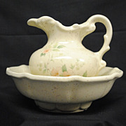 McCoy �Romance� Bowl and Pitcher