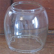 REDUCED Clear Glass Lantern Globe
