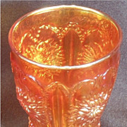 REDUCED Dugan Carnival Marigold Dahlia Tumbler ***Half Price Sale***