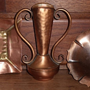 REDUCED Gregorian Solid Copper Urn Vase  ***Make an Offer Sale***