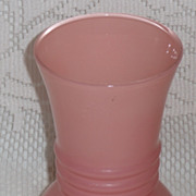 REDUCED Anchor Hocking Pink Rainbow Vase  ***Make an Offer Sale***