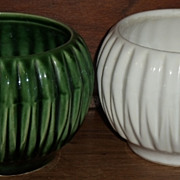 USA Green Pottery Bowl   ***Make an Offer Sale***