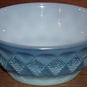 (B) Fire King Blue Kimberly Bowl(s)