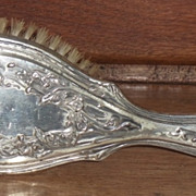 Sterling Silver Lady's Hairbrush
