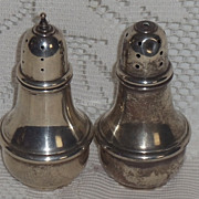 "Lenox Sterling Silver 4"" Salt/Pepper Set   **As Is**"